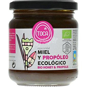 TOCA miel y propóleo ecológico tarro 270 g