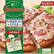 Supreme pizza tradicional italiana al puro estilo americano con champiñones Envase 420 g Buitoni American Style