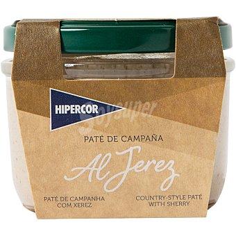 Hipercor Paté de campaña al jerez Tarrina 100 g