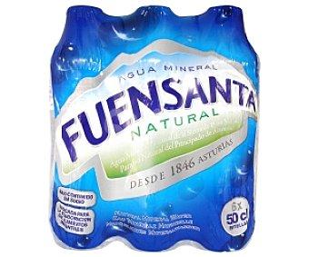 Fuensanta Agua mineral Pack 6 Unidades de 50 Centilitros