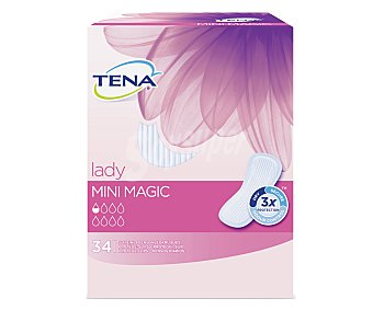 Tena Lady Protege slips Mini Magic 34 Unidades