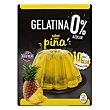Gelatina en polvo piña 0% azúcar Caja 28 g Hacendado