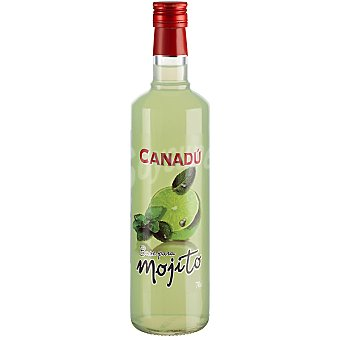 Canadu Base para mojito sin alcohol Botella 70 cl