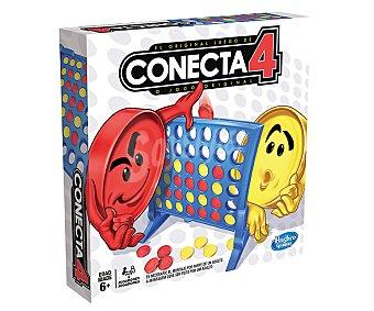 HASBRO Juego de mesa Las 4 en línea Conecta 4, 2 jugadores 1 unidad