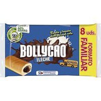 BOLLYCAO Bollo con leche relleno de cacao 270 g + 2 gratis
