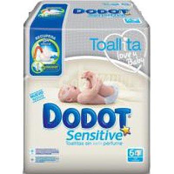 Dodot Dodot Sensitive. Toallitas Paquete 324 unid