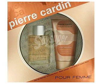 Pierre Cardin Estuche Colonia Mujer: Eau de Parfum 50ml + Loción Corporal 150ml 1u
