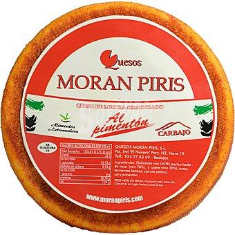 MORAN PIRIS Queso de cabra con pimentón Carbajo 800 g peso aproximado pieza
