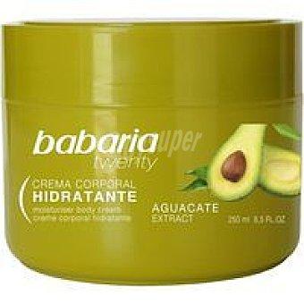 BABARIA Crema corporal aguacate 250 ml