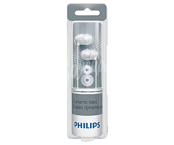 Philips Auricular tipo intrauricular color blanco, con cable SHE3590WT/10