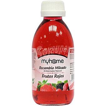 S&S Myhome recambio de ambientador natural mikado Frutos Rojos frasco 200 ml Frasco 200 ml
