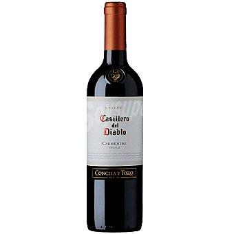 Casillero del Diablo Vino tinto carmenere reserva Chile botella 75 cl 75 cl