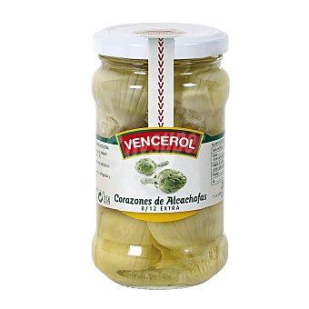 Vencerol Corazones de alcachofa extra Frasco 175 g (peso neto escurrido)
