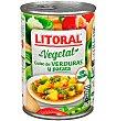 Guiso verdura-patata 430 gramos Litoral