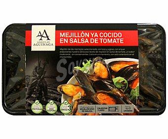 Angulas Aguinaga Mejillones ya cocido en salsa de tomate 400 gramos