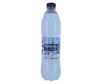 Auchan Bebida isotónica sabor natural (cítrico) Botella de 1,5 litros