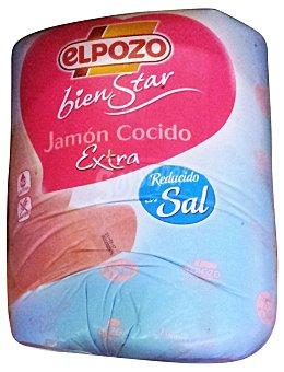 ElPozo Jamon cocido reducido en sal a lonchas 50 g