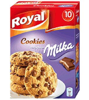 Royal Preparado de cookies con pepitas 280 g