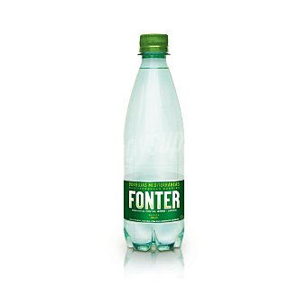 Fonter Agua mineral con gas Botella 50 cl