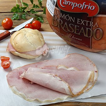 Campofrío Jamón cocido braseado Envase de 250.0 g.