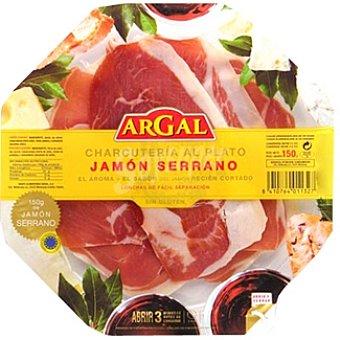 Argal Plato de jamón serrano Bandeja 150 g