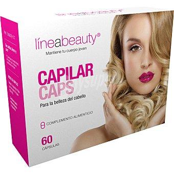 LINEASLIM para la belleza del cabello ápsulas envase 78 g 60 c