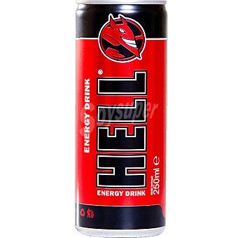 HELL Bebida energética Lata 25 cl