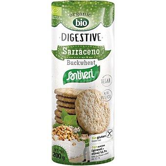 Santiveri Organic Bio Digestive galletas de trigo sarraceno sin gluten ecológicas paquete 200 g paquete 200 g