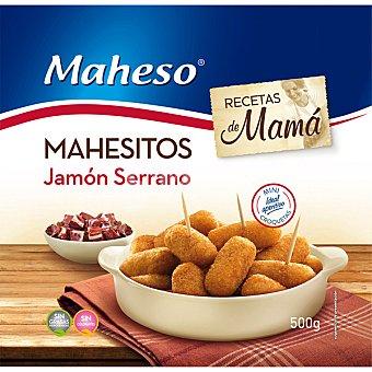 Maheso Mahesitos minicroquetas de jamon serrano bolsa 500 g Bolsa 500 g
