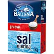 sal marina gruesa  envase 1 kg La Ballena