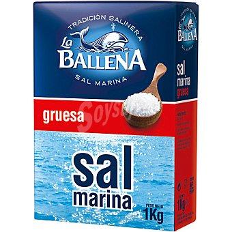 LA BALLENA sal marina gruesa  envase 1 kg