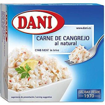 Dani Carne de cangrejo al natural Lata 120 g neto escurrido
