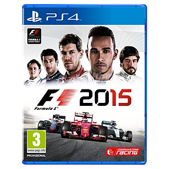 PS4 Videojuego F1 2015 para Ps4