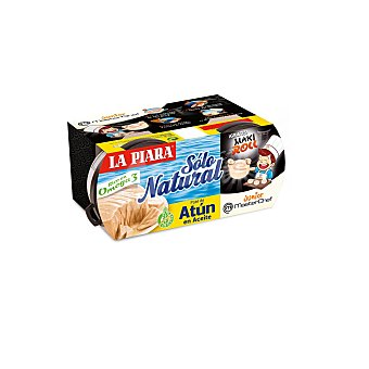 LA PIARA Paté de atún en aceite pack 2x75 g