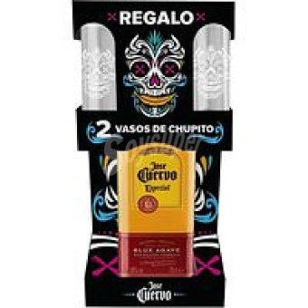José Cuervo Tequila Gold Botella 70 cl+ 2