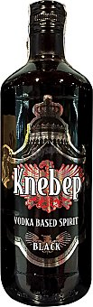 Knebep Vodka black Botella 700 cc