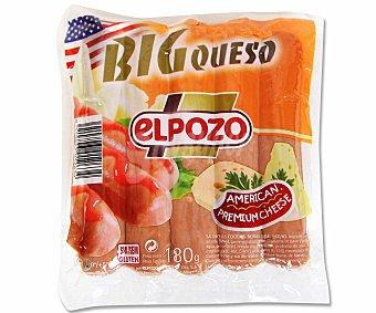 ElPozo Cod unit salchicha big queso Sobre 180 gr