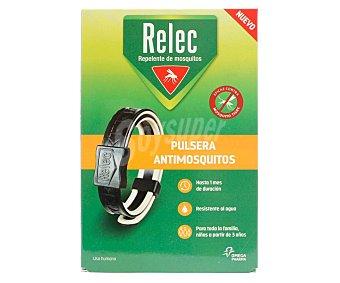 Relec Pulsera anti-mosquitos resistente al agua y para toda la familia relec