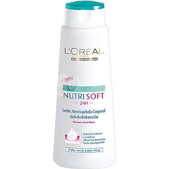 L'Oréal Paris Crema corporal Nutri Soft nutrición intensa piel seca a muy seca Frasco 400 ml