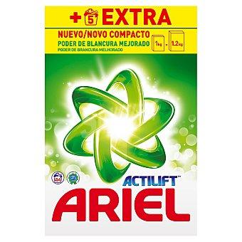 Ariel Detergente máquina polvo con Actilift Maleta 50 cacitos