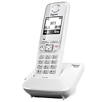 GIGASET A420 Teléfono inalámbrico Dect en color blanco