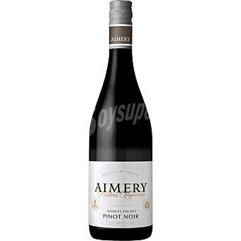 Aimery vino tinto pinot noir de Francia botella 75 cl