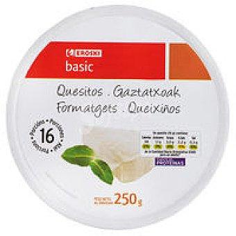 Eroski Basic Queso fundido porciones 250g