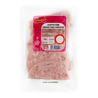 Campofrío Chopped pork bajo en grasa Sobre de 250 gr.