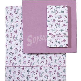 CASACTUAL Floral juego de sábanas Ramillete cama 90 cm