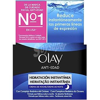 OLAY Anti-edad Crema de noche Hidratación instantánea Bote 50 ml