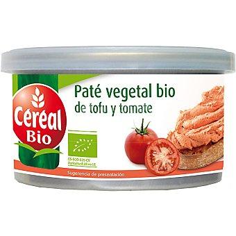 CEREAL BIO Paté vegetal de tofu y tomate ecológicos Envase 125 g