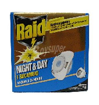 Raid Insecticida Night&Day 1 unid