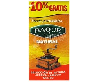 Baqué Café molido natural 250 gramos