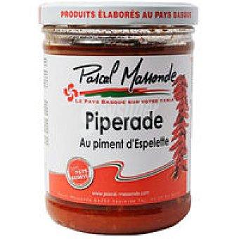 MASSONDE Piperrada con pimiento de Espe. Tarro 750 g